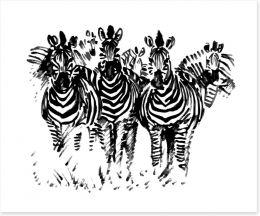 Black and White Art Print 13106100