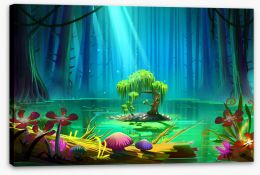 Magical Kingdoms Stretched Canvas 131179133