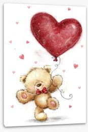Teddy Bears Stretched Canvas 133477231