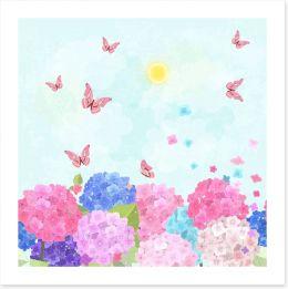Fun Gardens Art Print 134168850