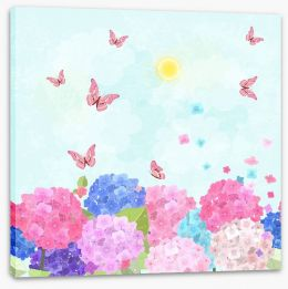 Fun Gardens Stretched Canvas 134168850