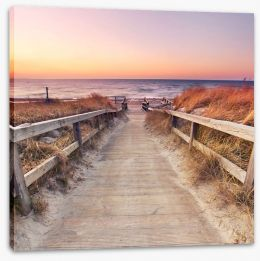 Beaches Stretched Canvas 135049987
