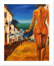 Bedroom Art Print 135426093