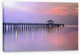 Jetty Stretched Canvas 135456468