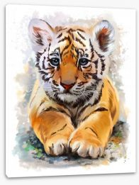 Little tiger Stretched Canvas 135461997