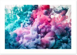 First impression Art Print 136988332