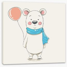 Teddy Bears Stretched Canvas 137065248