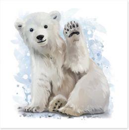 Animal Friends Art Print 137096940