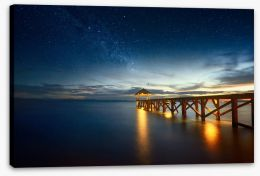 Jetty Stretched Canvas 137165837