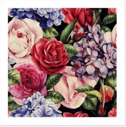 Floral Art Print 137485728