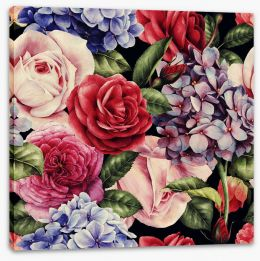 Floral Stretched Canvas 137485728