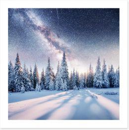 Winter Art Print 137614597
