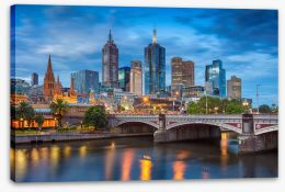 Melbourne Stretched Canvas 138283345