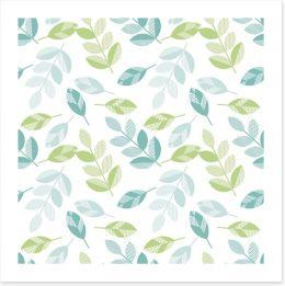 Leaf Art Print 140056798