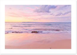 Sundown at Noosa Beach