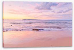 Sundown at Noosa Beach Stretched Canvas 142052768