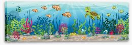 Under The Sea Stretched Canvas 142983501
