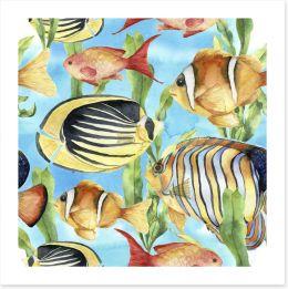 Bathroom Art Print 143835098