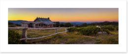 Craig's Hut sunset Art Print 144824722