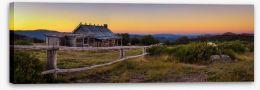 Craig's Hut sunset Stretched Canvas 144824722