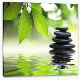 Zen Stretched Canvas 15253506
