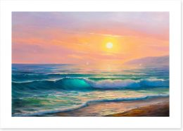 The last wave Art Print 152757271