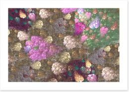 Bloom and bling Art Print 155713801