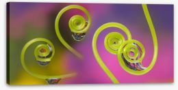 Raindrop curls Stretched Canvas 155952368