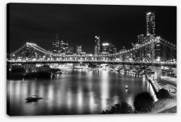 Brisbane Stretched Canvas 157134294