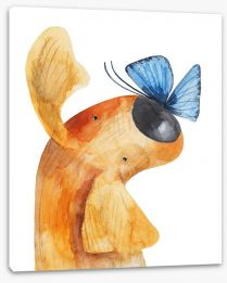 Animal Friends Stretched Canvas 158177144
