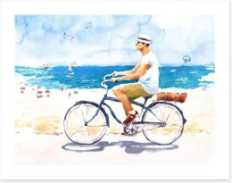 Beach House Art Print 158801958