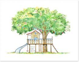 Fun Gardens Art Print 159289793