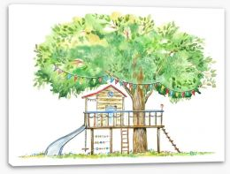 Fun Gardens Stretched Canvas 159289793