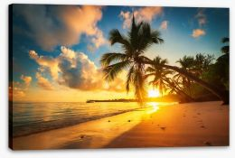 Beaches Stretched Canvas 160987944