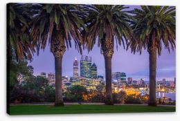 Perth Stretched Canvas 164562505