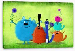 Animal Friends Stretched Canvas 164715483