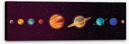Rockets and Robots Stretched Canvas 165132796