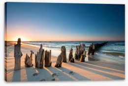 Jetty Stretched Canvas 165207863