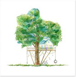 Fun Gardens Art Print 165343080