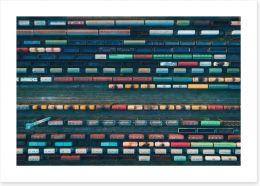 Abstract Art Print 166930325