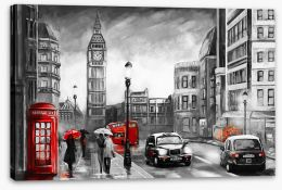 London Stretched Canvas 167015499