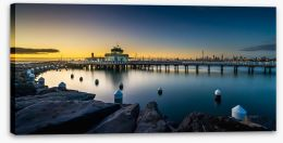 Melbourne Stretched Canvas 169775820