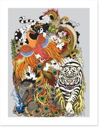 Chinese Art Art Print 171120244