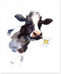 Daisy the cow Art Print 171476668