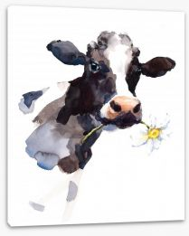 Daisy the cow Stretched Canvas 171476668