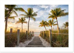 Beaches Art Print 171585376