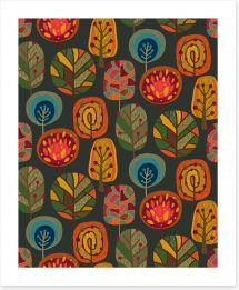 Elements of Autumn Art Print 173794315