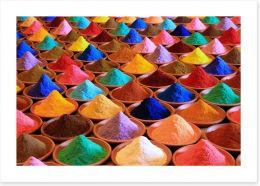 Every colour under the sun Art Print 174973120