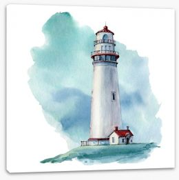 Watercolour Stretched Canvas 175826020
