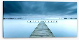Lake Wendouree jetty Stretched Canvas 176460833